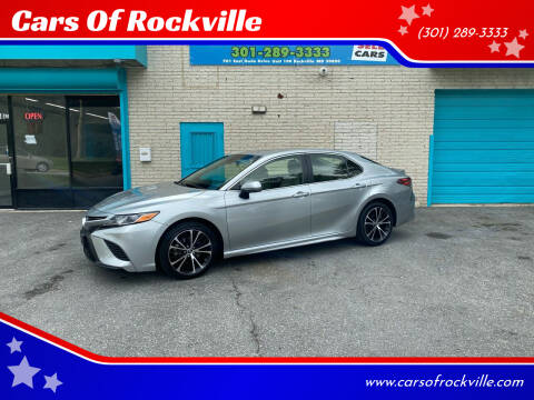 2018 Toyota Camry for sale at Cars Of Rockville in Rockville MD