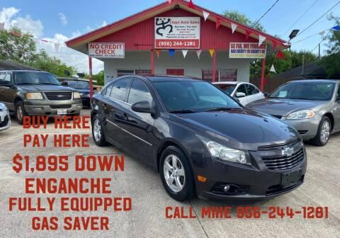 2013 Chevrolet Cruze for sale at Coqui Auto Sales in La Feria TX