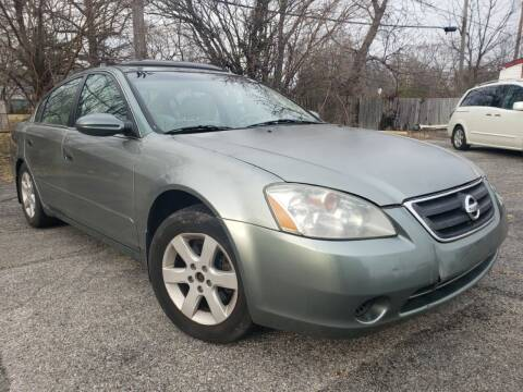 2003 Nissan Altima for sale at speedy auto sales in Indianapolis IN