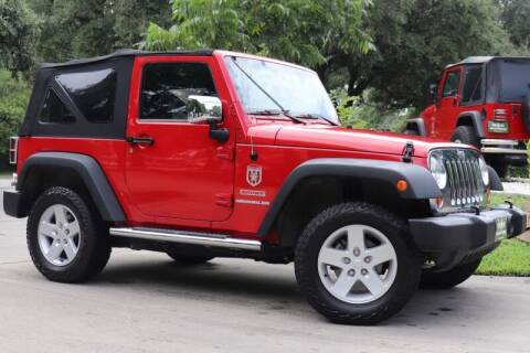 2012 Jeep Wrangler for sale at SELECT JEEPS INC in League City TX