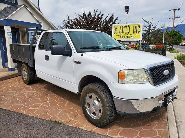 2007 Ford F-150 for sale at M AUTO, INC in Millcreek UT