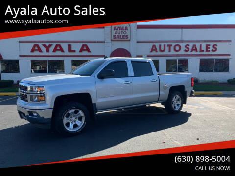 2014 Chevrolet Silverado 1500 for sale at Ayala Auto Sales in Aurora IL