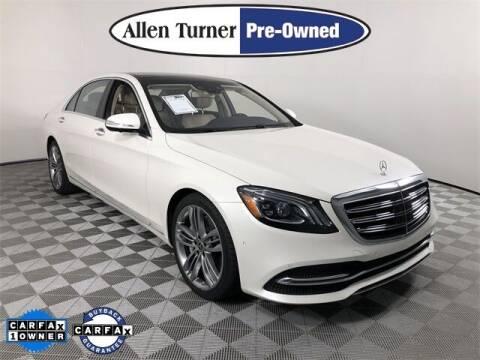 2018 Mercedes-Benz S-Class for sale at Allen Turner Hyundai in Pensacola FL
