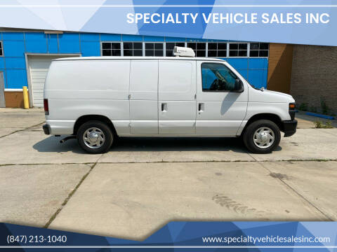 2008 Ford E-Series Cargo for sale at SPECIALTY VEHICLE SALES INC in Skokie IL