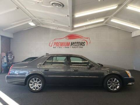 2010 Cadillac DTS for sale at Premium Motors in Villa Park IL