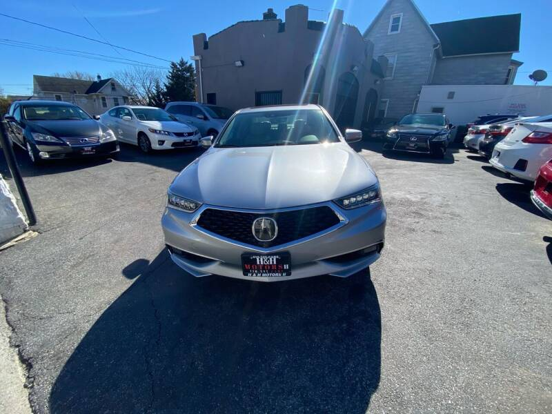 2018 Acura TLX for sale at H & H Motors 2 LLC in Baltimore MD