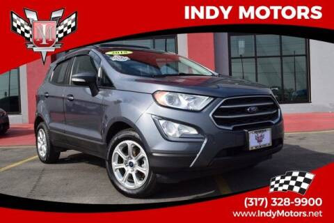 2018 Ford EcoSport for sale at Indy Motors Inc in Indianapolis IN
