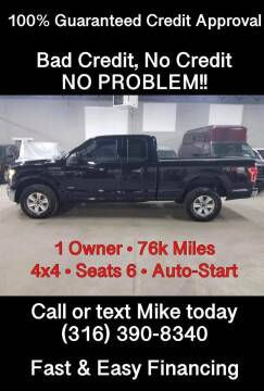 2016 Ford F-150 for sale at Affordable Mobility Solutions, LLC - Standard Vehicles in Wichita KS