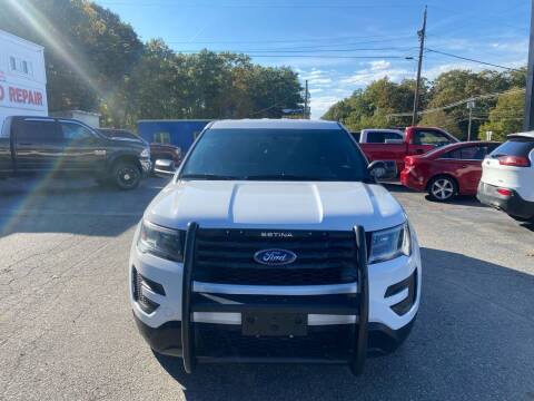 2017 Ford Explorer for sale at FIORE'S AUTO & TRUCK SALES in Shrewsbury MA