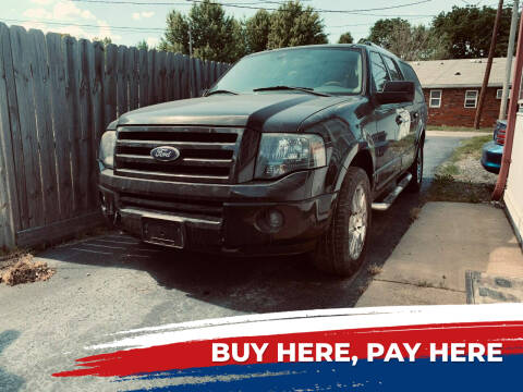 2010 Ford Expedition EL for sale at Marti Motors Inc in Madison IL