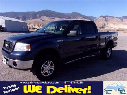 2006 Ford F-150 for sale at QUALITY MOTORS in Salmon ID