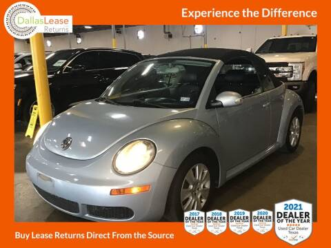 2009 Volkswagen New Beetle Convertible for sale at Dallas Auto Finance in Dallas TX