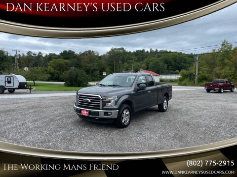 2015 Ford F-150 for sale at DAN KEARNEY'S USED CARS in Center Rutland VT