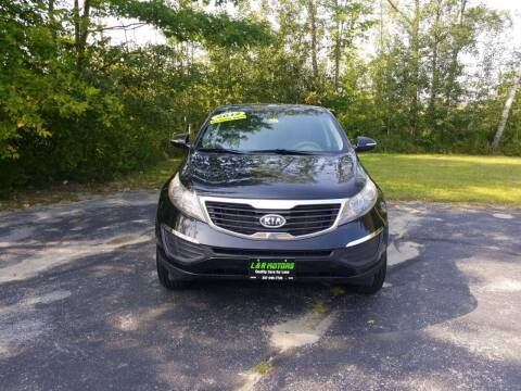 2012 Kia Sportage for sale at L & R Motors in Greene ME