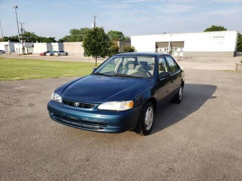 1998 Toyota Corolla for sale at Image Auto Sales in Dallas TX