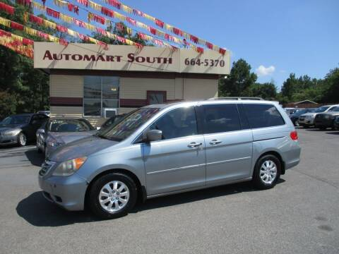 2010 Honda Odyssey for sale at Automart South in Alabaster AL