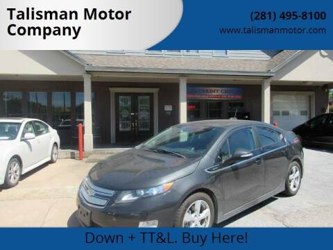 2015 Chevrolet Volt for sale at Don Jacobson Automobiles in Houston TX
