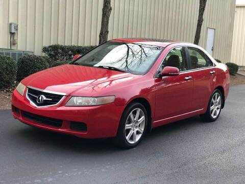 2004 Acura TSX for sale at Two Brothers Auto Sales in Loganville GA