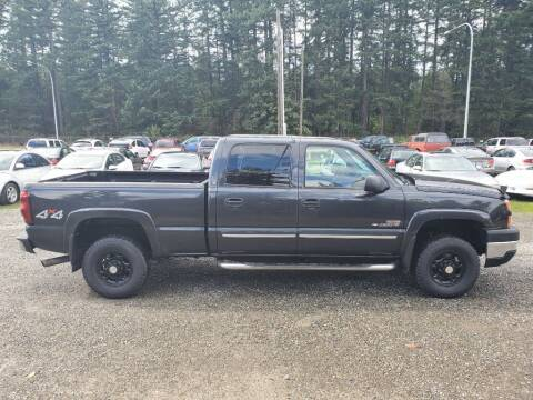 2005 Chevrolet Silverado 2500HD for sale at WILSON MOTORS in Spanaway WA