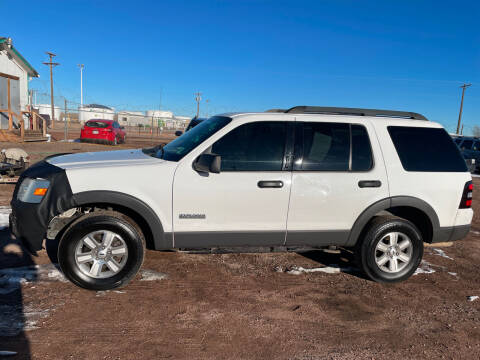 2006 Ford Explorer for sale at PYRAMID MOTORS - Fountain Lot in Fountain CO