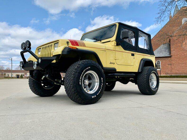 1992 Jeep Wrangler for sale in Fraser, MI