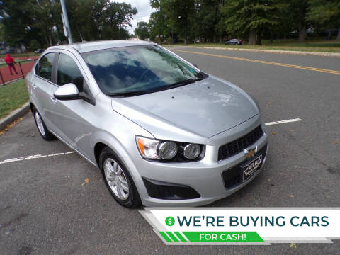 2013 Chevrolet Sonic for sale at TJS Auto Sales Inc in Roselle NJ