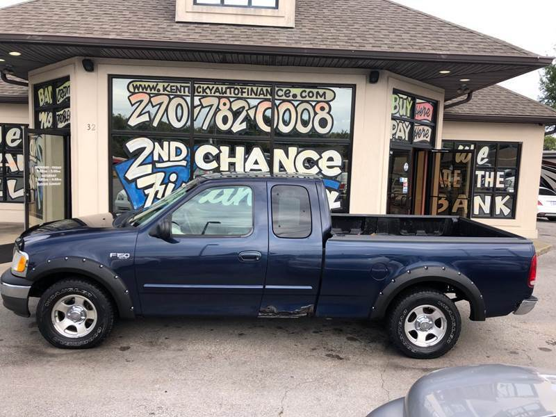 2003 Ford F-150 for sale at Kentucky Auto Sales & Finance in Bowling Green KY
