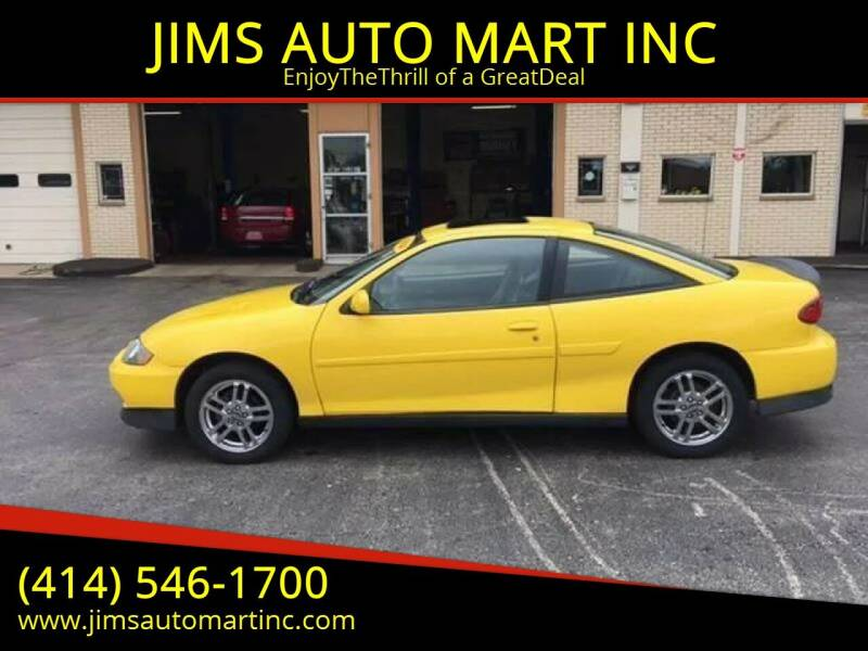 2004 Chevrolet Cavalier for sale at JIMS AUTO MART INC in Milwaukee WI