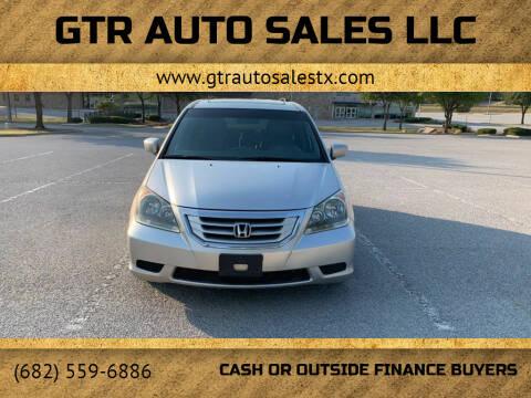 2008 Honda Odyssey for sale at GTR Auto Sales LLC in Haltom City TX