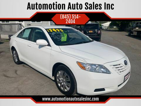 2008 Toyota Camry for sale at Automotion Auto Sales Inc in Kingston NY