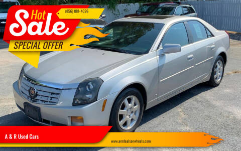 2007 Cadillac CTS for sale at A & R Used Cars in Clayton NJ