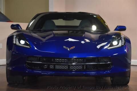 2017 Chevrolet Corvette for sale at Tampa Bay AutoNetwork in Tampa FL