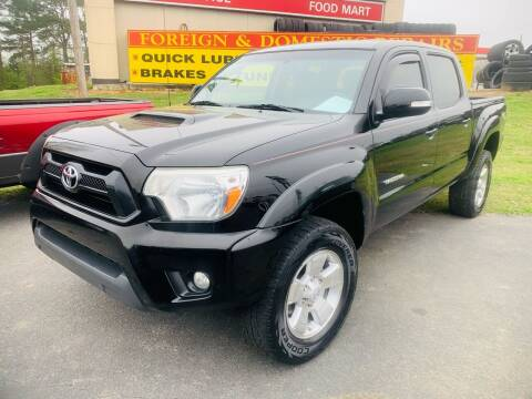 2012 Toyota Tacoma for sale at BRYANT AUTO SALES in Bryant AR