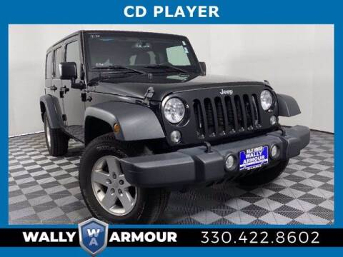 2018 Jeep Wrangler JK Unlimited for sale at Wally Armour Chrysler Dodge Jeep Ram in Alliance OH