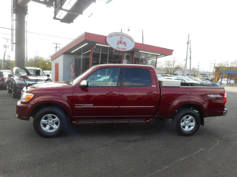2006 Toyota Tundra for sale at The Carriage Company in Lancaster OH