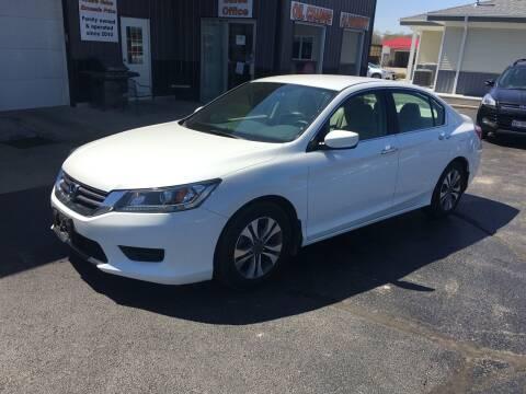 2013 Honda Accord for sale at Hoss Sage City Motors, Inc in Monticello IL