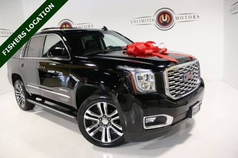 2018 GMC Yukon for sale at Unlimited Motors in Fishers IN
