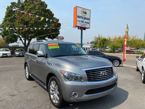 2012 Infiniti QX56 for sale at TDI AUTO SALES in Boise ID