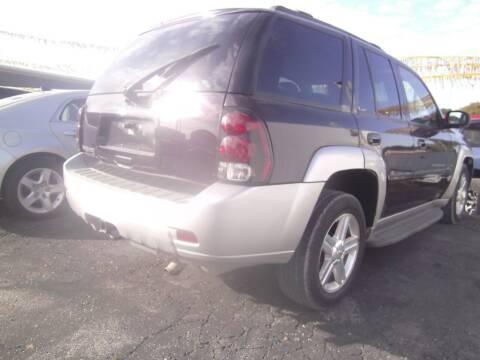 2008 Chevrolet TrailBlazer for sale at MITRISIN MOTORS INC in Oskaloosa IA