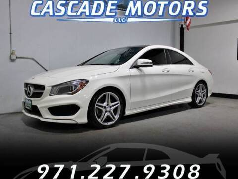 2014 Mercedes-Benz CLA for sale at Cascade Motors in Portland OR