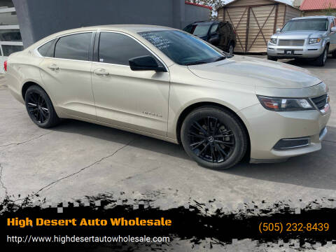 2014 Chevrolet Impala for sale at High Desert Auto Wholesale in Albuquerque NM