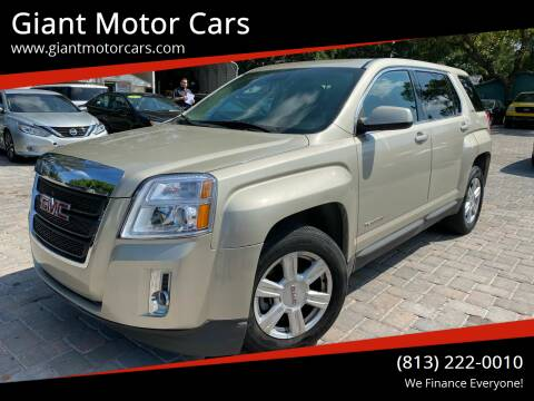 2015 GMC Terrain for sale at Giant Motor Cars in Tampa FL
