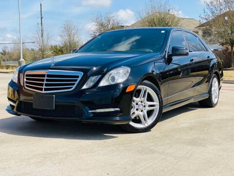 2013 Mercedes-Benz E-Class for sale at AUTO DIRECT in Houston TX