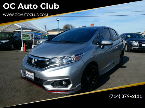 2018 Honda Fit for sale at OC Auto Club in Midway City CA
