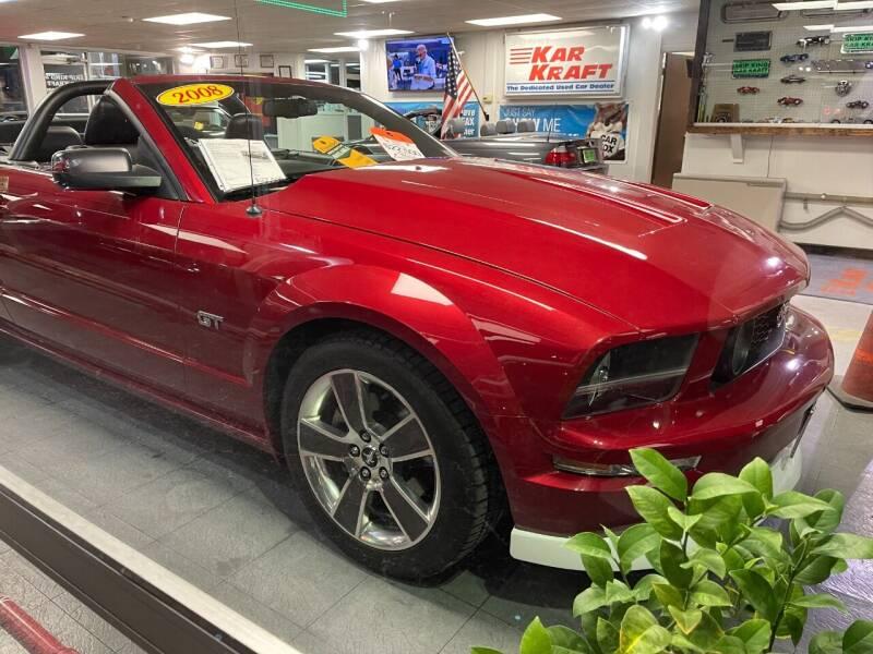 2008 Ford Mustang for sale at Kar Kraft in Gilford NH