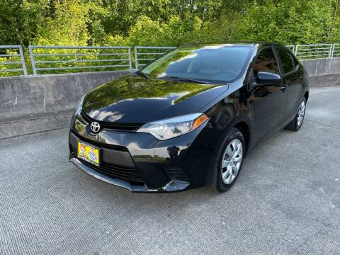 2014 Toyota Corolla for sale at Zipstar Auto Sales in Lynnwood WA