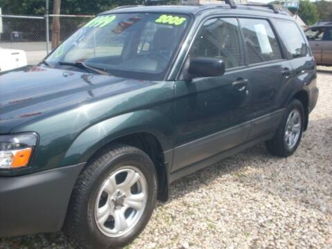 2005 Subaru Forester for sale at Flag Motors in Islip Terrace NY