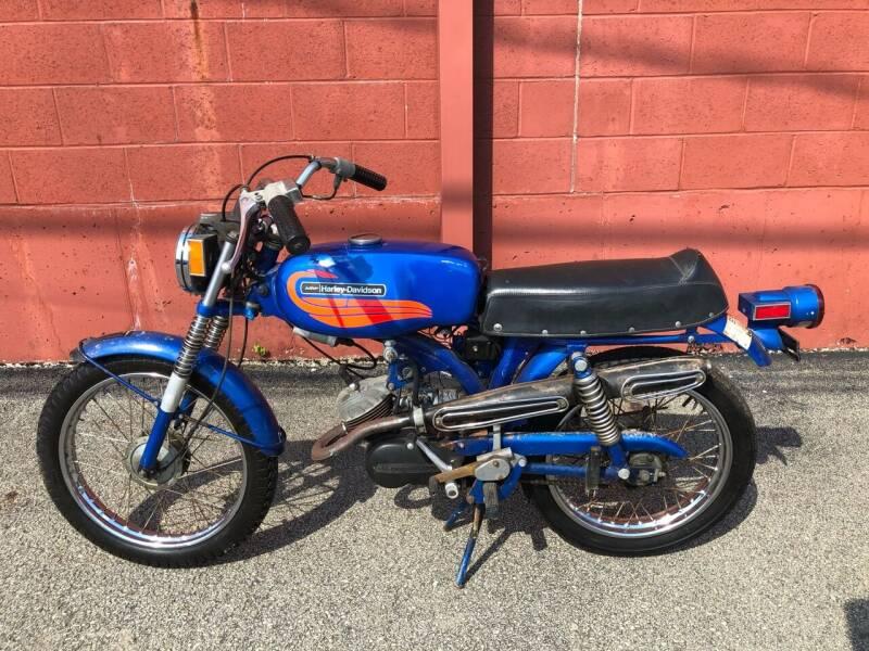 1972 Harley-Davidson Leggero for sale at ELIZABETH AUTO SALES in Elizabeth PA