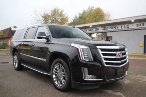 2017 Cadillac Escalade ESV for sale at PMC Automotive in Cincinnati OH