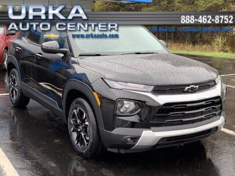 2021 Chevrolet TrailBlazer for sale at Urka Auto Center in Ludington MI
